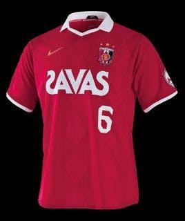 2010年シーズン 浦和レッズ 新ユニフォーム