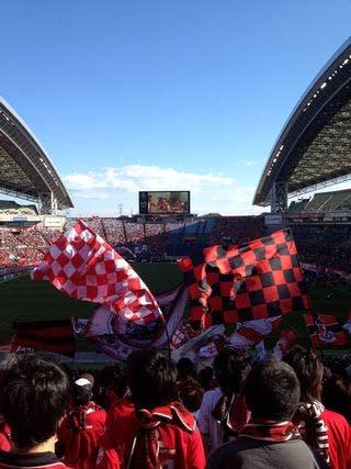 Jリーグ第11節 埼玉スタジアム2002 アルビレックス新潟戦