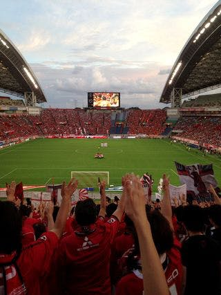 Jリーグ第24節 埼玉スタジアム2002 大宮アルディージャ戦