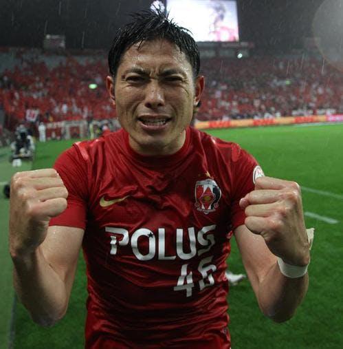 ジュビロ磐田戦で同点ゴールを決めた森脇良太