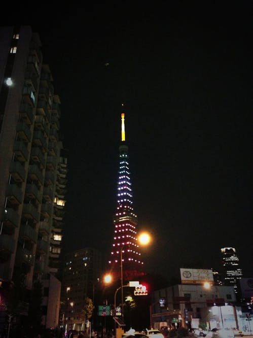 東京タワー Jリーグ20周年記念ライトアップ