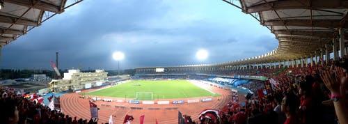 等々力陸上競技場 ヤマザキナビスコカップ準決勝第1戦 アウェー 川崎フロンターレ戦