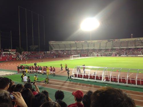駒場スタジアム 第93回天皇杯2回戦 栃木ウーヴァFC戦