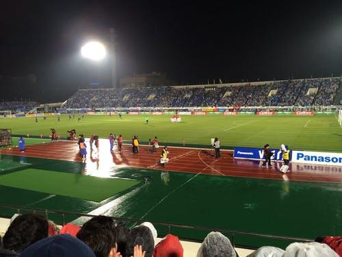 万博記念競技場 アウェー ガンバ大阪戦(2014年Jリーグ開幕戦)