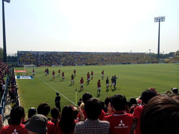 2014 Jリーグ第9節 日立柏サッカー場 アウェー 柏レイソル戦