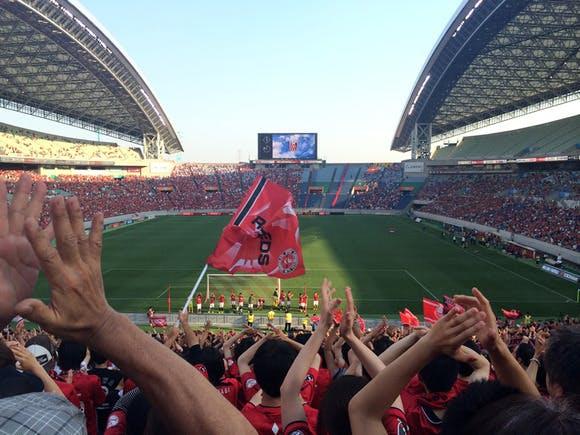 2014 ヤマザキナビスコカップ 予選リーグ第7戦 埼玉スタジアム2002 名古屋グランパス戦