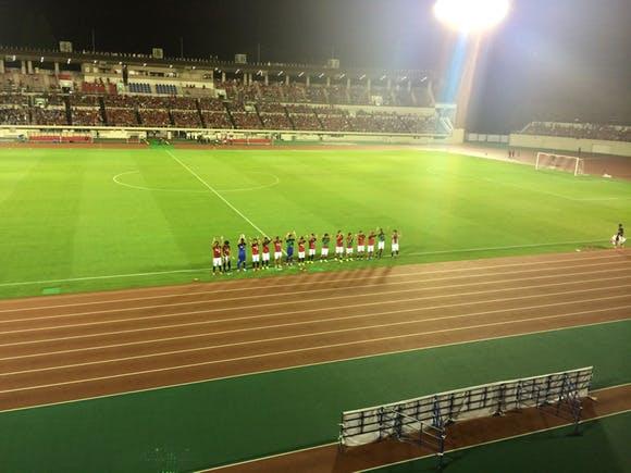 浦和駒場スタジアム 第94回天皇杯2回戦 浦安SC戦