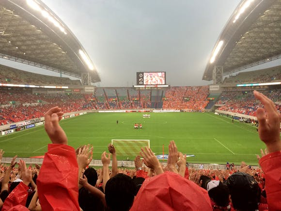 2014 Jリーグ第15節 埼玉スタジアム2002 アルビレックス新潟戦