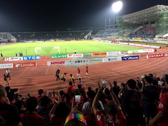 2014 Jリーグ第16節 鳴門・大塚スポーツパーク ポカリスエットスタジアム アウェー 徳島ヴォルティス戦
