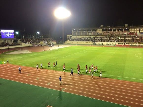 浦和駒場スタジアム 第94回天皇杯3回戦 ザスパクサツ群馬戦