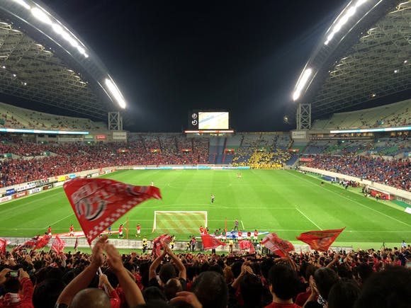2014 Jリーグ第24節 埼玉スタジアム2002 柏レイソル戦