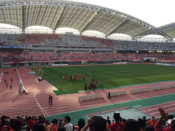 2014 Jリーグ第25節 デンカビッグスワンスタジアム アウェー アルビレックス新潟戦