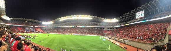 2014 Jリーグ第30節 県立カシマサッカースタジアム アウェー 鹿島アントラーズ戦