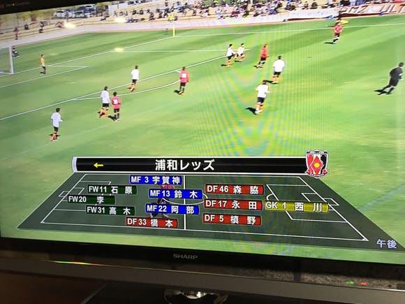 Jリーグ スカパー! ニューイヤーカップ 清水エスパルス戦(トレーニングマッチ)