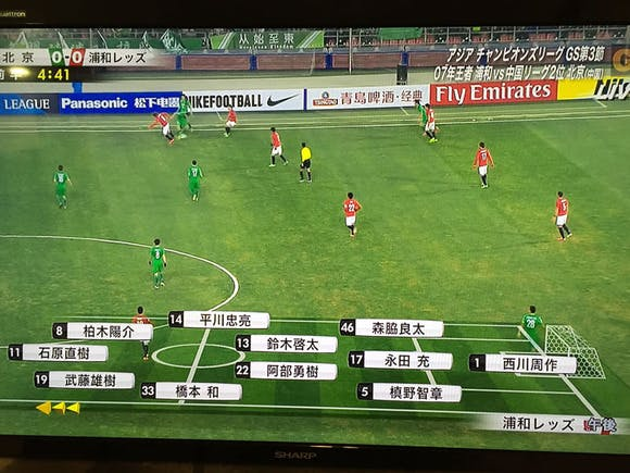 ACL 2015 グループG 第3節 北京工人体育場 アウェー 北京国安戦