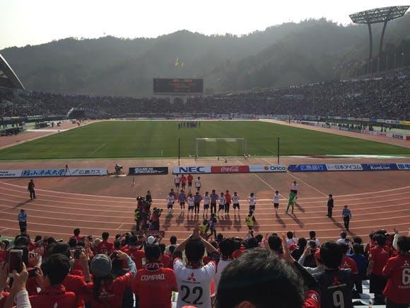2015 Jリーグ 1stステージ 第3節 エディオンスタジアム広島 アウェー サンフレッチェ広島戦