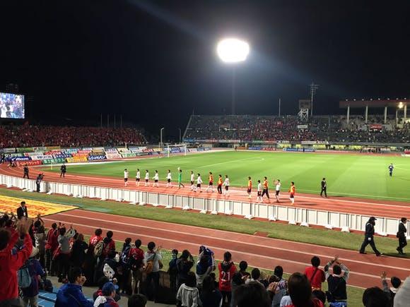 2015 Jリーグ 1stステージ 第8節 山梨中銀スタジアム アウェー ヴァンフォーレ甲府戦