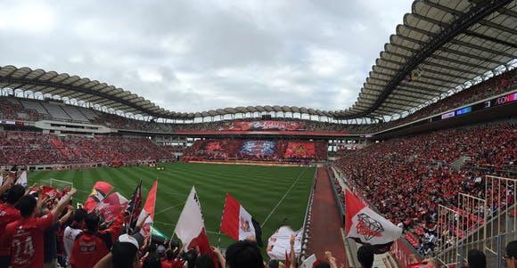 2015 Jリーグ 2ndステージ 第12節 カシマスタジアム アウェー 鹿島アントラーズ戦