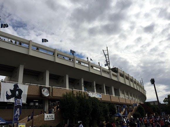 2015 Jリーグ 2ndステージ 第14節 万博記念公園陸上競技場 アウェー ガンバ大阪戦