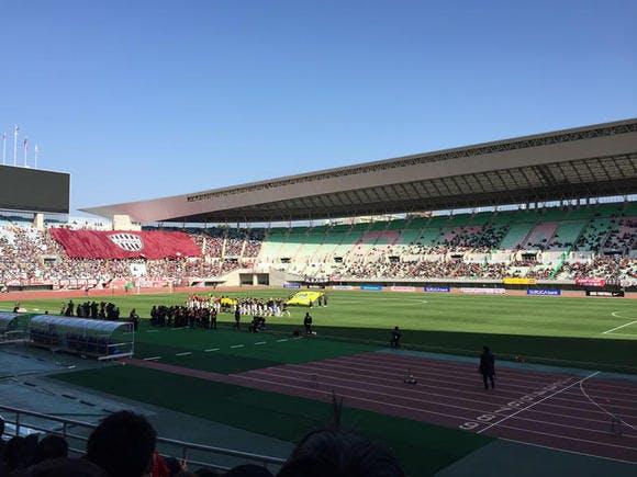 ヤンマースタジアム長居 第95回天皇杯 準々決勝 ヴィッセル神戸戦