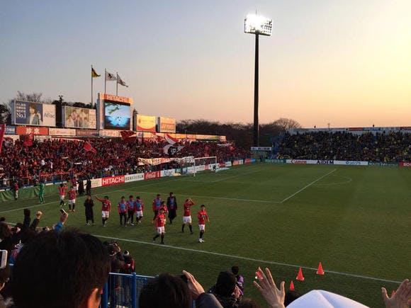 2016 Jリーグ 1stステージ 第1節 日立柏サッカー場 アウェー 柏レイソル戦(2016年Jリーグ開幕戦)