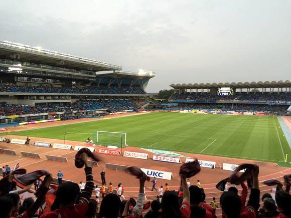 2016 Jリーグ 1stステージ 第8節 等々力陸上競技場 アウェー 川崎フロンターレ戦