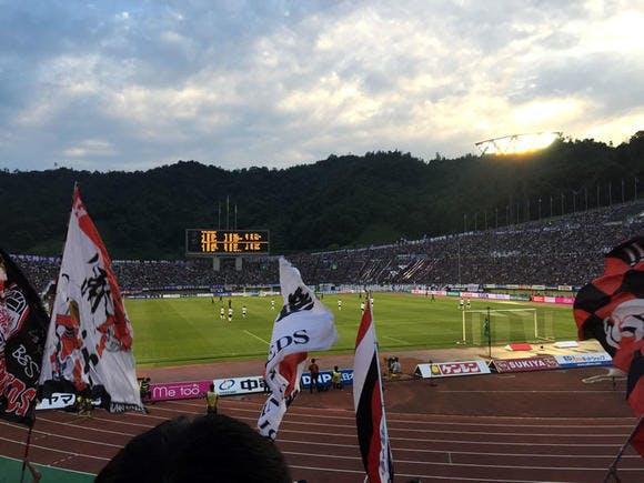 2016 Jリーグ 1stステージ 第16節 エディオンスタジアム広島 アウェー サンフレッチェ広島戦