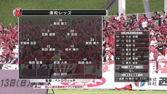 2016 Jリーグ 2ndステージ 第1節 レベルファイブスタジアム アウェー アビスパ福岡戦(2ndステージ開幕戦)