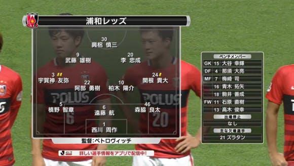 2016 Jリーグ 2ndステージ 第3節 ユアテックスタジアム仙台 アウェー ベガルタ仙台戦
