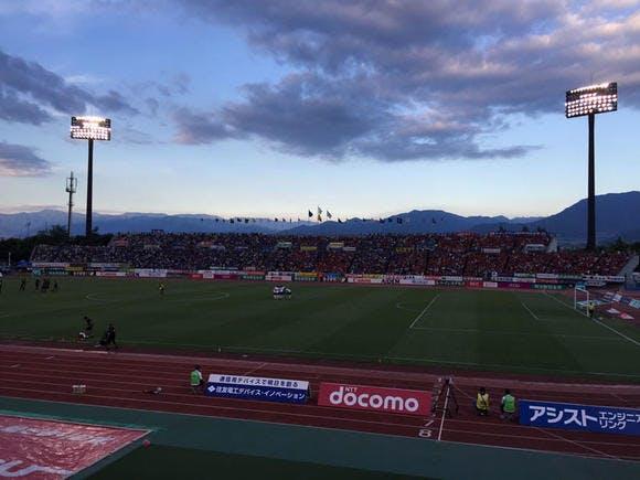 2016 Jリーグ 2ndステージ 第6節 山梨中銀スタジアム アウェー ヴァンフォーレ甲府戦