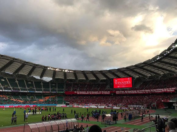 2016 Jリーグ 2ndステージ 第16節 エコパスタジアム アウェー ジュビロ磐田戦