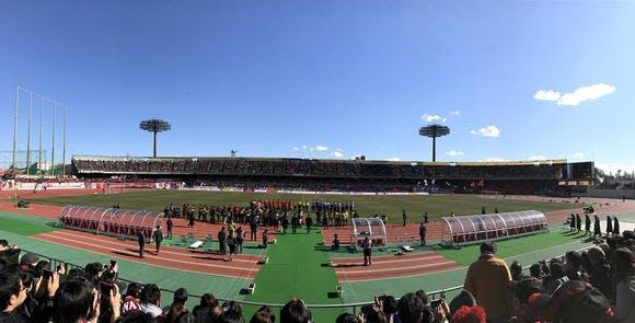 浦和駒場スタジアム 日韓友好50年第10回さいたまシティカップ vsFCソウル
