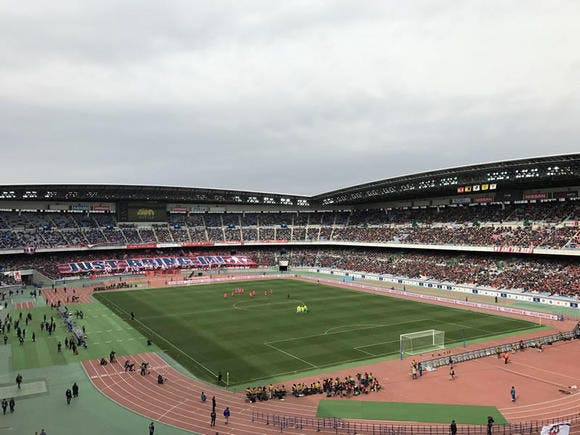 FUJI XEROX SUPER CUP 2017 日産スタジアム 鹿島アントラーズ戦