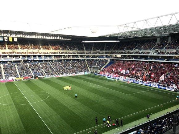 2017 Jリーグ 第4節 市立吹田サッカースタジアム アウェー ガンバ大阪戦