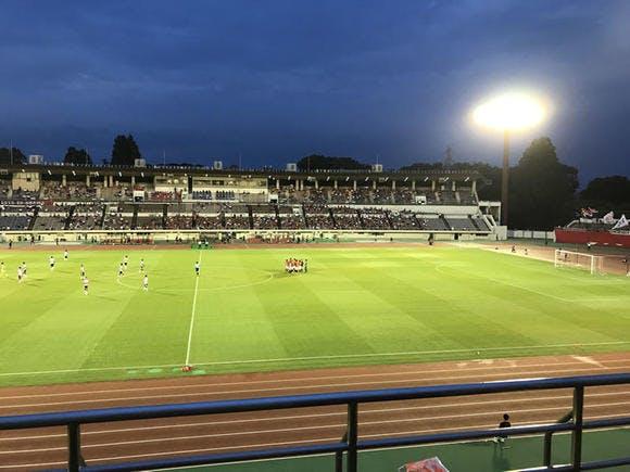 第97回天皇杯 3回戦 浦和駒場スタジアム ロアッソ熊本戦