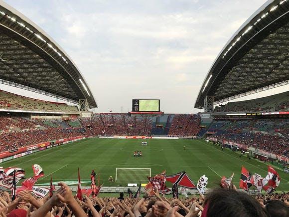 2017 Jリーグ 第18節 埼玉スタジアム2002 アルビレックス新潟戦