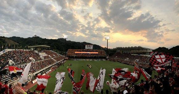 2017 Jリーグ 第24節 IAIスタジアム日本平 アウェー 清水エスパルス戦
