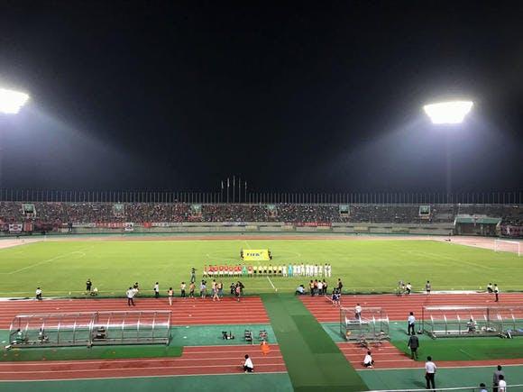 第97回天皇杯ラウンド16(4回戦) 熊谷スポーツ文化公園陸上競技場 鹿島アントラーズ戦