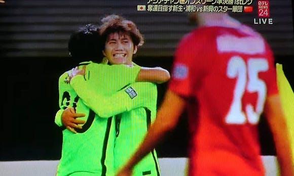 AFCチャンピオンズリーグ2017 準決勝 第1戦 上海体育場 アウェー 上海上港戦