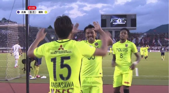 2017 Jリーグ 第31節 エディオンスタジアム広島 アウェー サンフレッチェ広島戦
