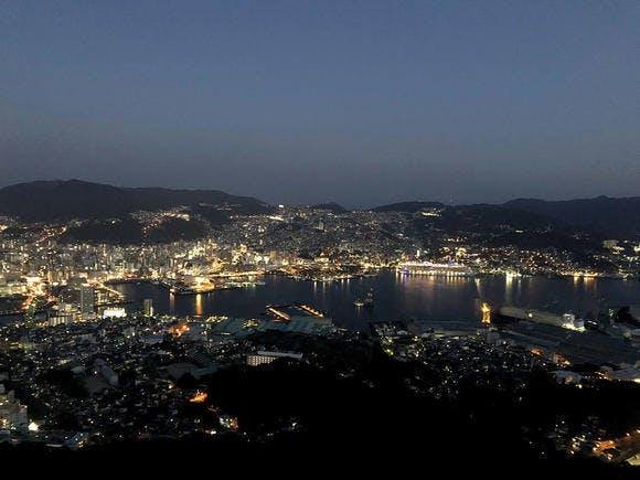 稲佐山山頂展望台からの夜景