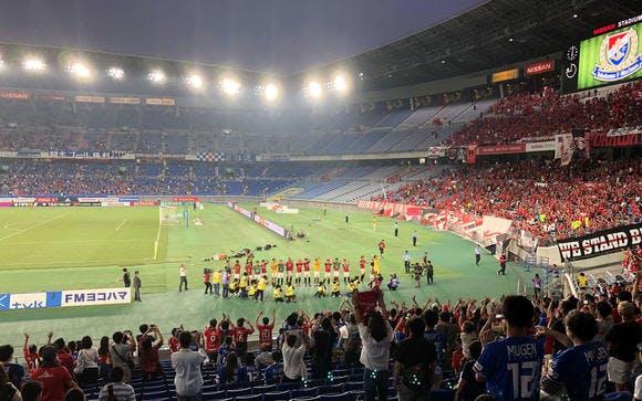 2018 Jリーグ 第26節 日産スタジアム アウェー 横浜F・マリノス戦