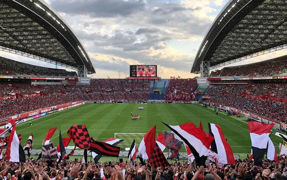 2018 Jリーグ 第30節 埼玉スタジアム2002 鹿島アントラーズ戦