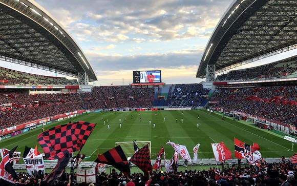 2018 Jリーグ 第31節 埼玉スタジアム2002 ガンバ大阪戦