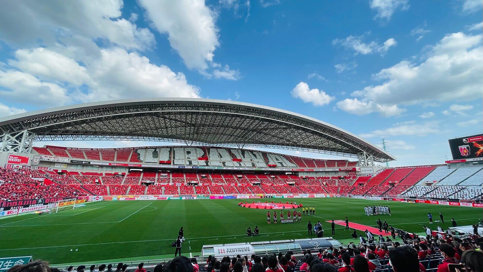 2021 Jリーグ 第7節 埼玉スタジアム2002 鹿島アントラーズ戦