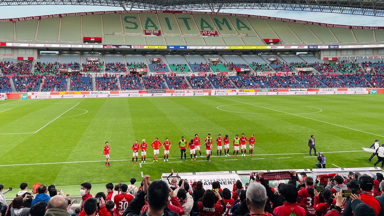 2021 Jリーグ 第9節 埼玉スタジアム2002 徳島ヴォルティス戦
