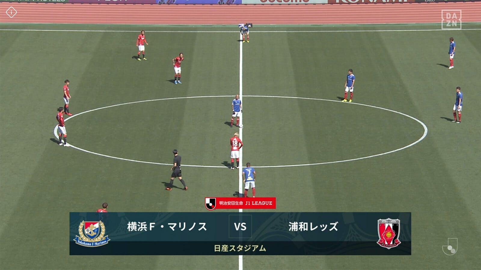 2021 Jリーグ 第4節 日産スタジアム アウェー 横浜F・マリノス戦